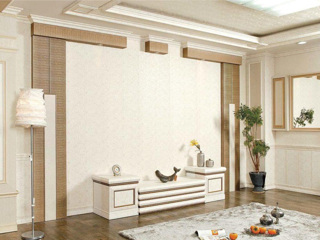 bondjin interior lis panel design desain polystyrene tahan air anti rayap tahan gores flexible fleksibel plastis dekorasi rumah ruangan kamar classic klasik minimalis korea