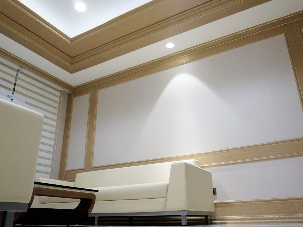 bondjin board wall panel plinth crown furniture rumah interior dekorasi rumah lis plang internit polysterine tahan air anti rayap motif
